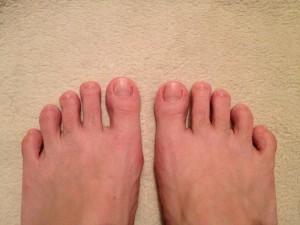 僕の足型(エジプト型)