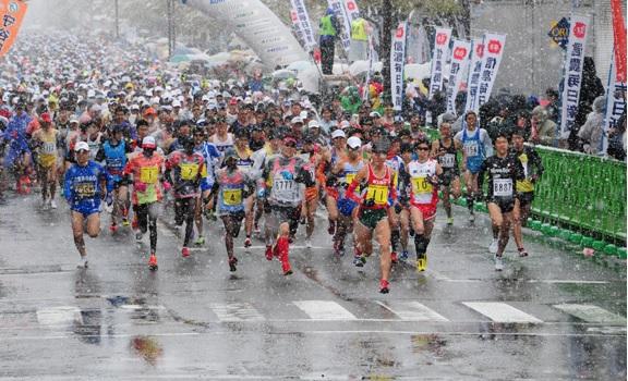 雨の日のマラソン対策