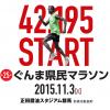ぐんま県民マラソンのフルマラソンコース攻略