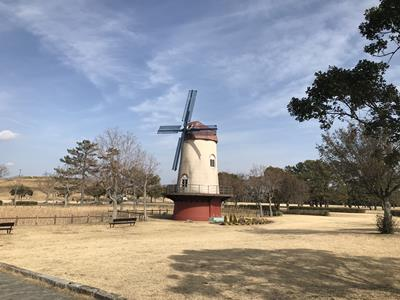 中田島砂丘の風車