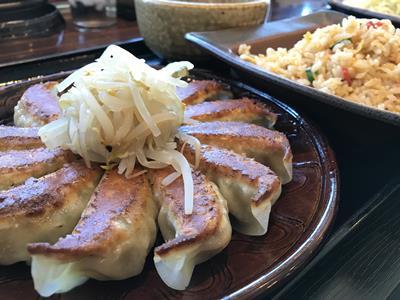 浜松餃子とチャーハン