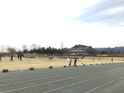 甘楽町陸上競技場のトラック