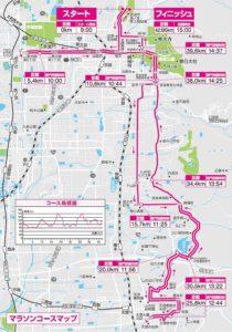 奈良マラソンのコース