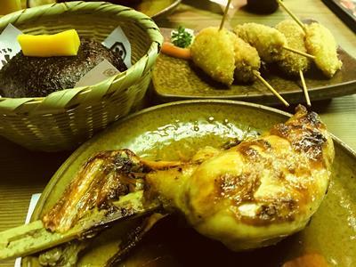 山賊の料理