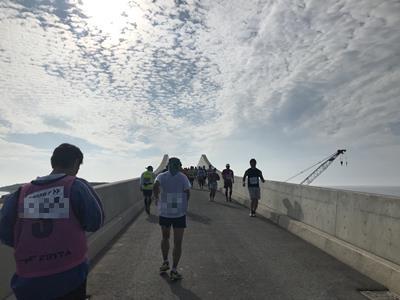第2湖口橋の上り坂